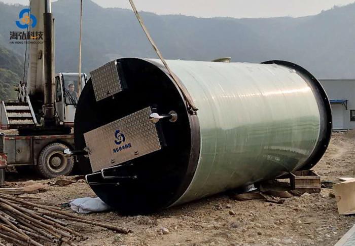 一体化预制污水提升泵